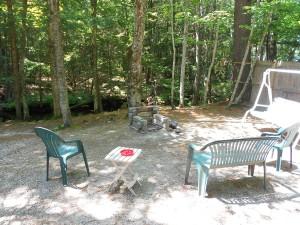 campfire area cottage 1